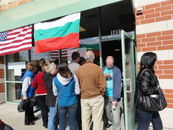 Опашката беше отвън пред избирателната секция