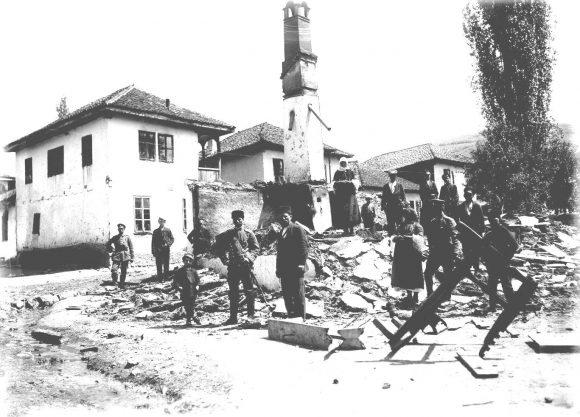 Босилеград след операцията на К. Печанац през май 1915