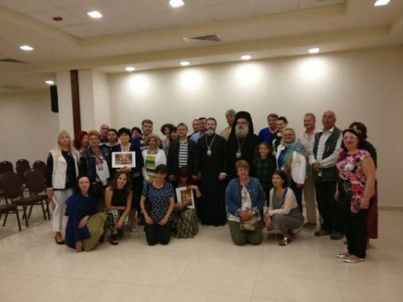 Среща със Севастийския митрополит Теодосий