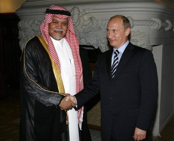 Принц Бандар и Владимир путин