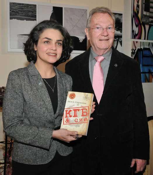 Румяна Угарчинска и Ив Боне (София, декември 2010 г.)