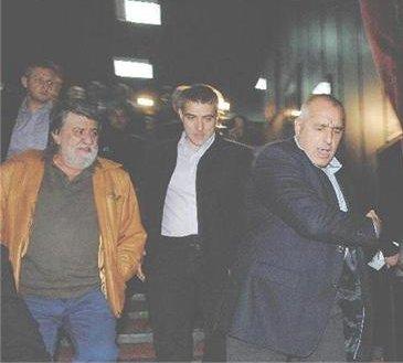 Бойко Борисов в театъра