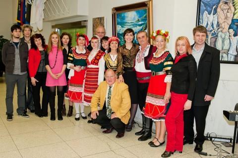 Участниците в изложбата
