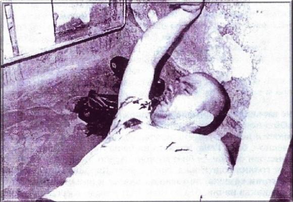 Последната снимка на зверски убития в затвора журналист и поет Г. Заркин