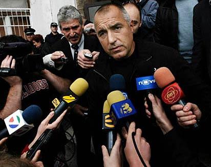 Борисов е любимец на медиите още от времето, когато беше главен секретар на МВР. Но никой или почти никой не му задава неудобни въпроси. Снимка: e-vestnik