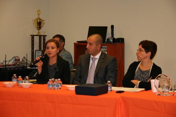 Участниците в правния семинар