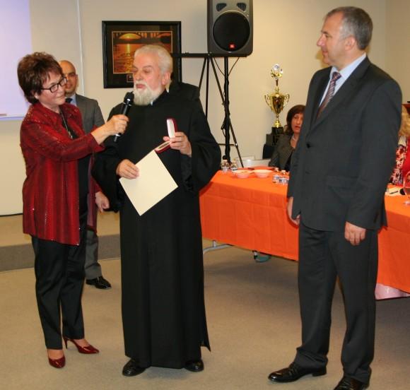 """Награждаване на Българската православна църква """"Свети Иван Рилски – Чудотворец"""""""