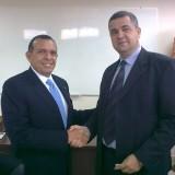 С президента на Хондурас