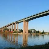 """Кръстеният на основателя на държавата Аспарухов мост във Варна, излезе на челно място в световната класация на """"мостове на смъртта""""."""