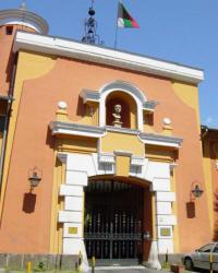 Фасадата на българското посолство в Рим