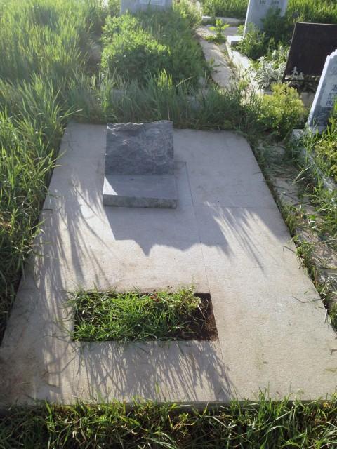 Гробът на Юри в кв. Бакърена фабрика в София. Снимка: Рафаело Казаков