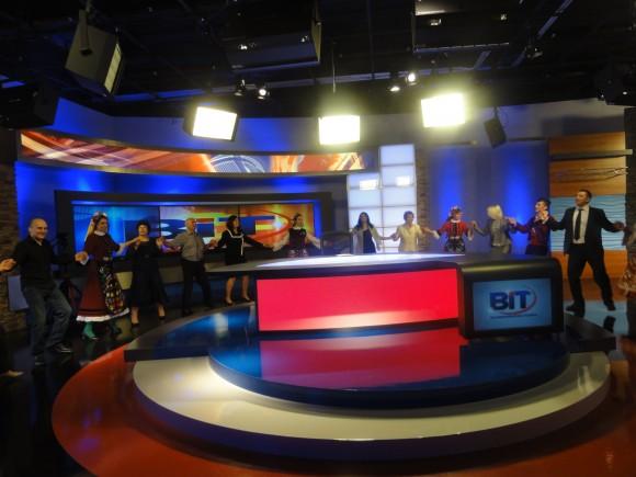 Право хоро на  българския телезионен канал