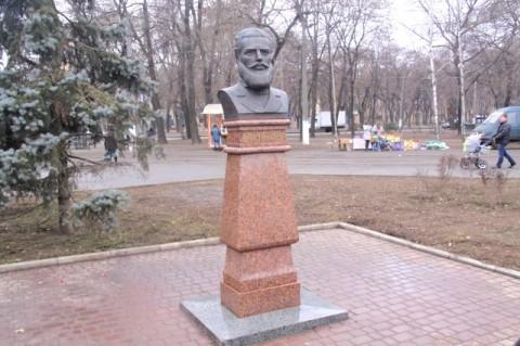 Паметникът на Христо Ботев в Одеса, открит през 2009 г.