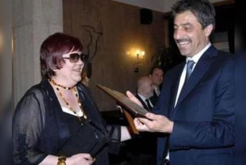 Медийната императрица Кръстева и собственикът на КТБ Цветан Василев, снимани заедно преди две години. Снимка: Razuznavane.com