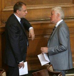 Станишев и Бисеров. Снимка: БГНЕС