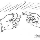 Карикатура: Доньо Донев