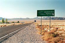 """Път 375, """"Извънземната магистрала"""" към Зона 51"""