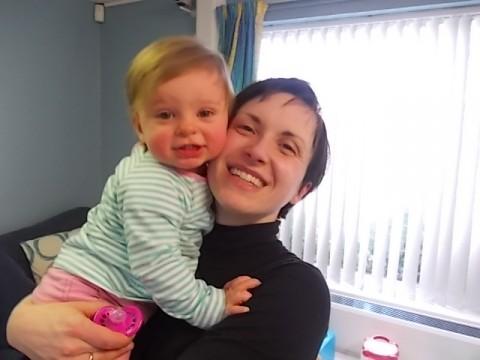 Елисавета Попова с дъщеря си Мегън. Снимка: Фейсбук