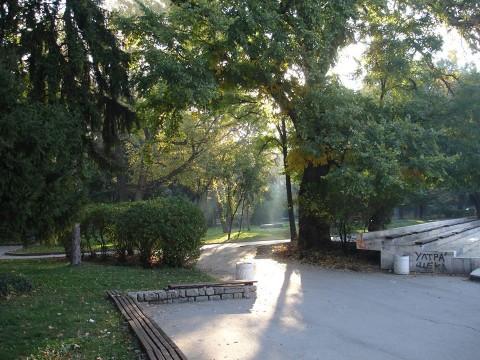 Кътче от ЦарСимеоновата градина. Снимка: Фейсбук