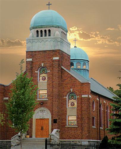 """БПЦ """"Света Троица"""", Медисън. Снимка: Уикипедия"""