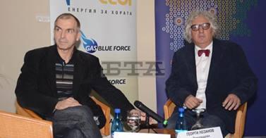 Ивайло Дичев и Георги Лозанов. Снимка: БТА