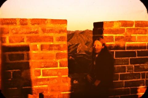 Мария Груева на Великата китайска стена