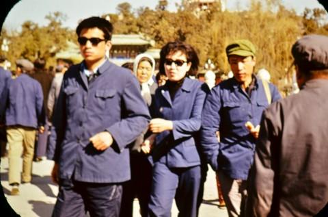 Нова генерация, опитваща се да разчупи сивотата на униформения живот. Пекин, втората половина на 70-те