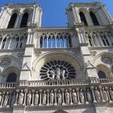 Фрагмент от Notre-Dame de Paris, една от най-известните християнски катедрали в света