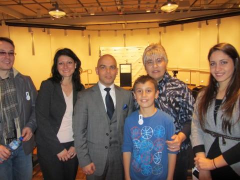 В Музея на Холокоста в Чикаго с българския генерален консул Симеон Стоилов