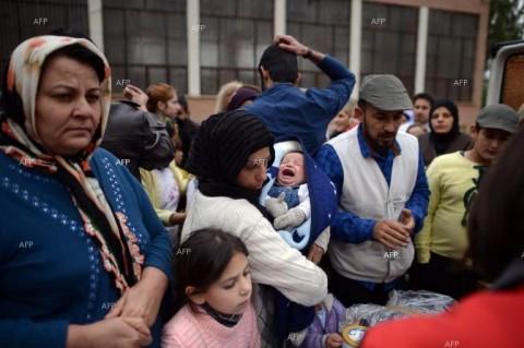 Според някои данни 10 % от всички сирийски бежанци са в България. Снимка: АФП