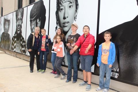 Пред фотосите на Манарки в Чикаго