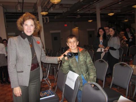 Българския посланик в САЩ г-жа Елена Поптодорова ни отдели специално внимание