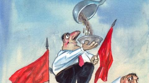 Карикатура: Иван Кутузов - Кути