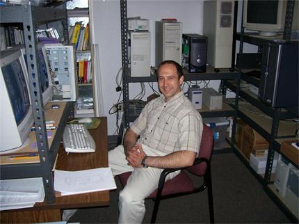 Университетът на Айдахо бил поредната стълбичка, която Кръстев изкачил към Харвард. Снимка: Личен архив