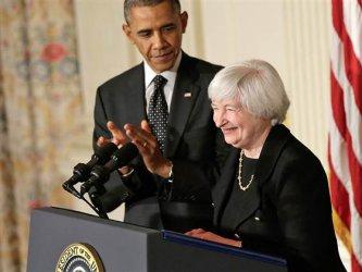 Обама и Йелън