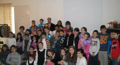 Деца от българско неделно училище в Никозия, Кипър. Снимка: Newsbg.eu