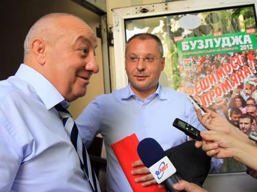 Гергов малко след като е преизбран за лидер на социалистите в Пловдив, юли 2012 г. Снимка: inews.bg
