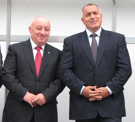 Гергов и Борисов по времето, когато Бойко беше премиер. Снимка: senzacia.net