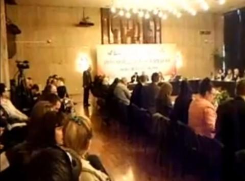 Снимка: Скрийншот от видеозапис на обсъждането.