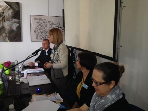 Министър Анелия Клисарова на откриването на конференцията във Виена. Снимка: Георги Донков