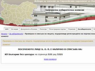 България без цензура са сред първите изгорели