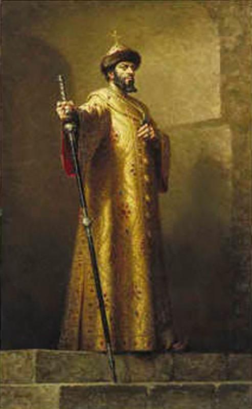 Борис Христов в ролята на Борис Годунов в едноименната опера на Мусоргски