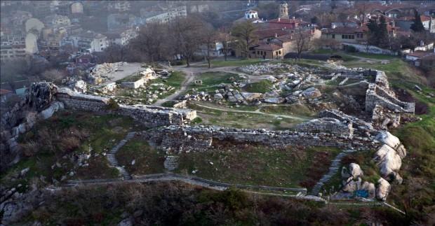 Част от историческото Небет тепе. Снимка: News.plovdiv24.bg