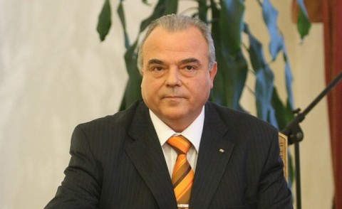 Стати Статев през юни 2010 г. при полагането му на клетва като член на УС на БНБ втори мандат. Снимка: БГНЕС