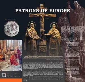 През 1880 г. папа Лъв XIII въвежда своя празник в календара на Римокатолическата църква. През 1980 г. папа Йоан Павел II ги обявен ко-патрони на Европа, заедно с Бенедикт на Nursia.