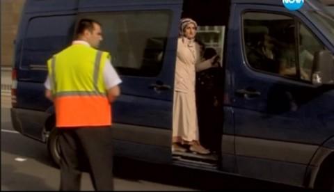 Снимка: скрийшот от видео на Нова ТВ за евроизборите в Мюнхен на