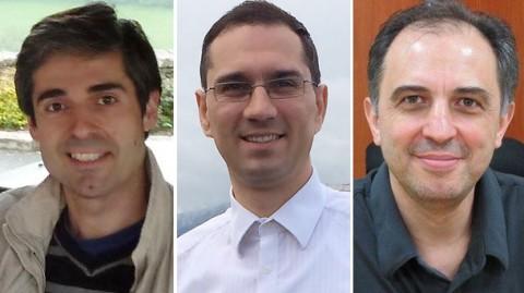 От ляво на дясно на снимките: Стефан Манов, Димитър Иванов, Петър Стаматов
