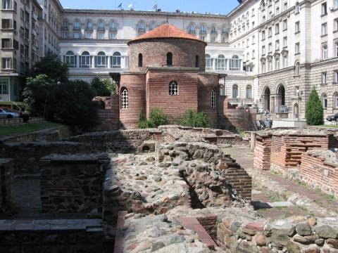 Останки от антична Сердика, където е подписан Едиктът на Галерий. Снимка: Сatholicvt.net/
