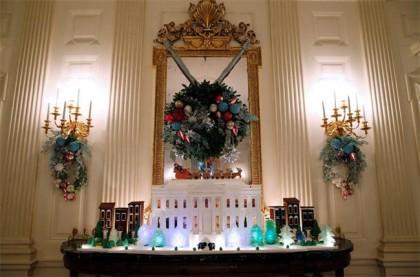 Част от празничната украса за тази Коледа в Белия дом