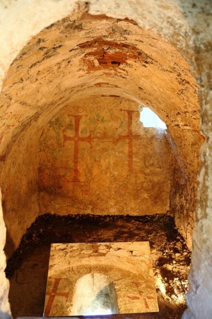 Гробницата на епископ Хонорий, за когото се смята, че е бил участник в Сердикийския събор. Снимка: Vijsofia.eu